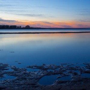 Sunrise over Deepwater Creek, Queensland, Australia