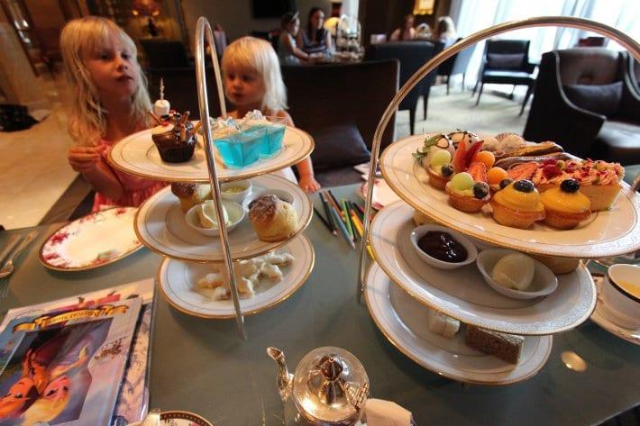 High Tea at Langham Hotel, Melbourne, Australia