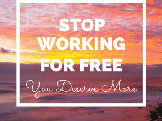 The Money Project - Stop working for free