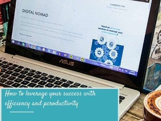 Use My Digital Nomad Toolkit to Leverage Your Success with Productivity & Efficiency