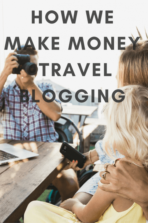 how e make money travel blogging