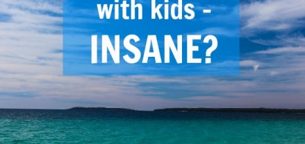 Would you go insane travelling long-term with your kids?