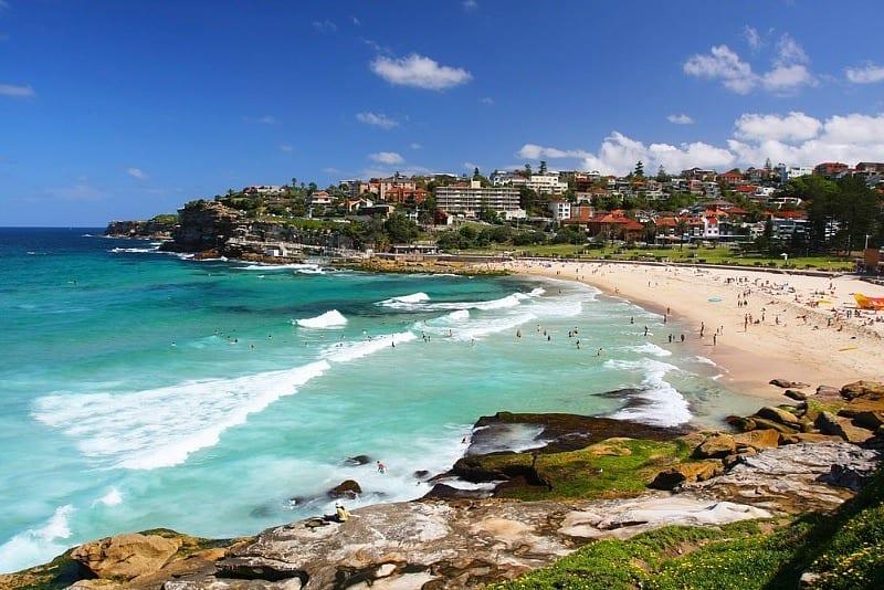 Playa Bronte, Sydney, Australia