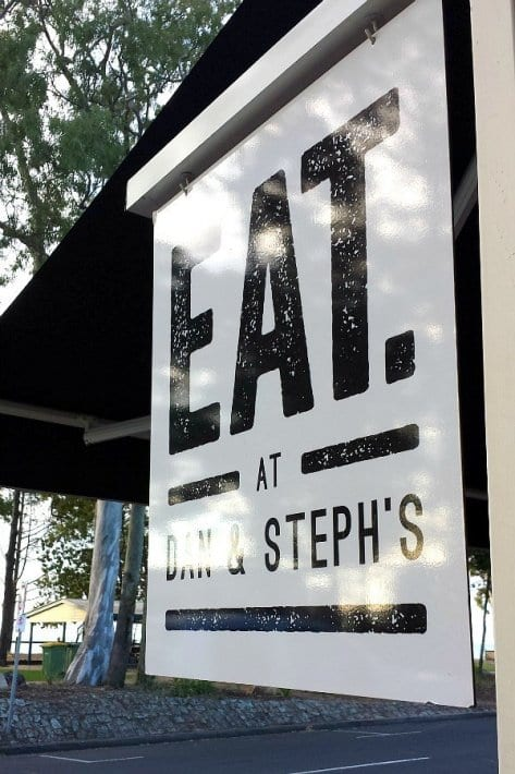 Dan & Stephs Cafe - Hervey Bay, Queensland, Australia