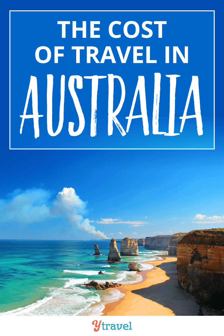 The cost of travel in Australia.
