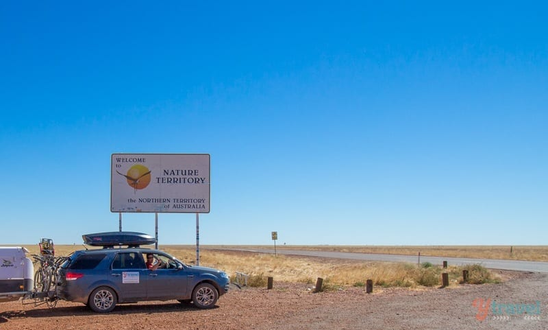 Arriving the Northern Territory of Australia