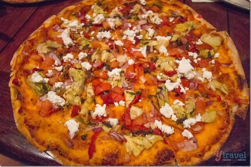 Cape Trib camping pizzas