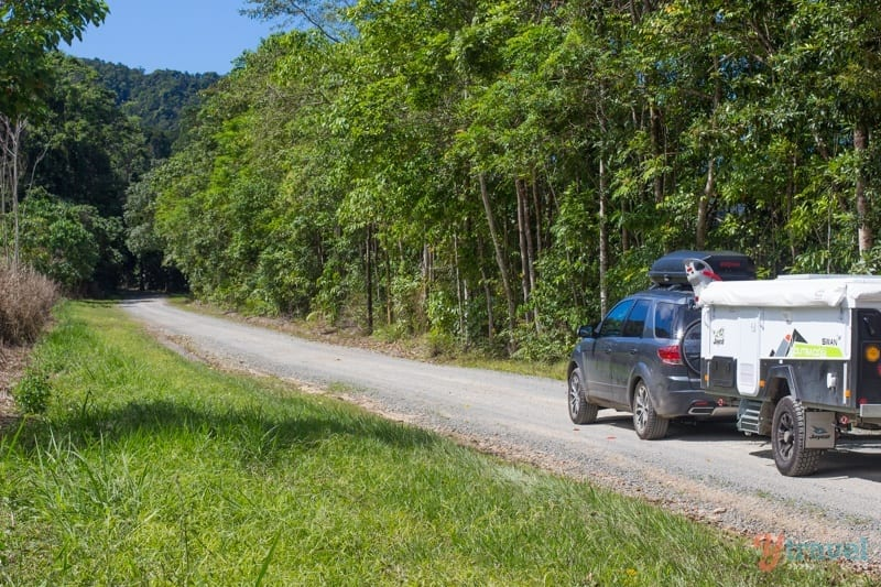 Daintree rainforest road trip