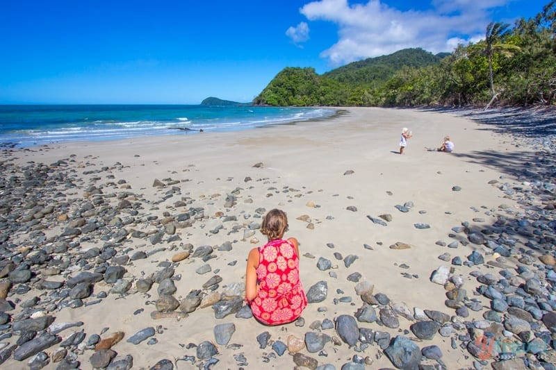 Emmagen Beach Daintree Rainforest