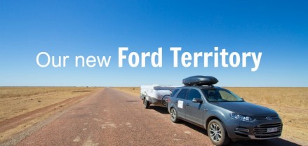 Exploring Australia in our new Ford Territory