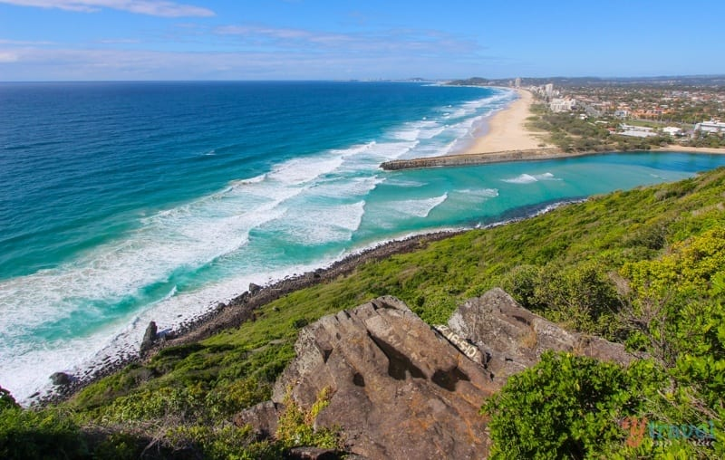Burleigh Heads National Park - one of the best short walks in Australia