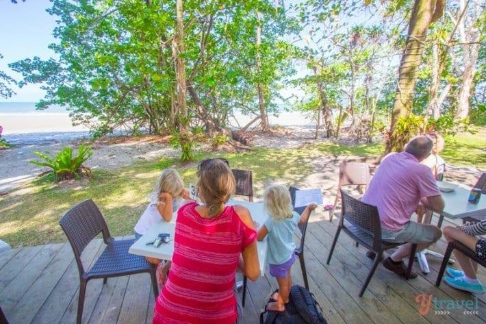Thornton Beach Cafe, Daintree National Park