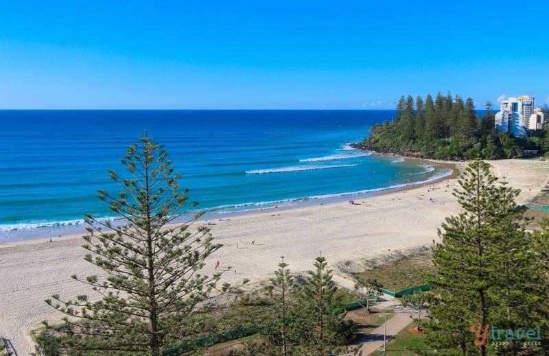 View from Mantra Coolangatta Beach - Queensland, Australia