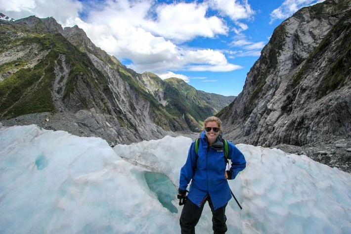 Liz Carlson in New Zealand