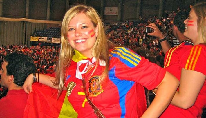 Liz Carlson enjoying life in Spain