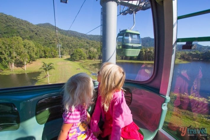 Skyrail from Cairns to Kuranda