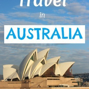 The cost of travel in Australia