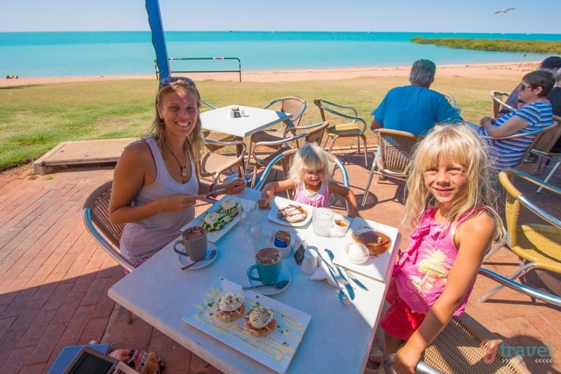 Town Beach Cafe in Broome