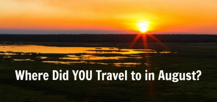 Where Did You Travel to in August? Come share on the blog!