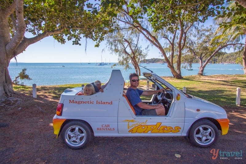 Topless Car Rental Magnetic Island