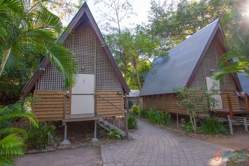 A-frame 6 bed bungalows