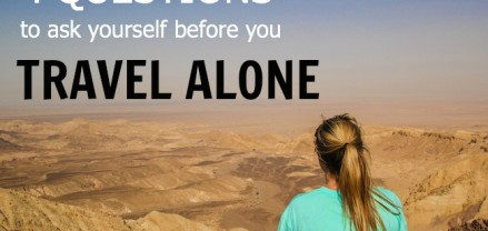4 Questions to ask yourself before you travel alone as a woman