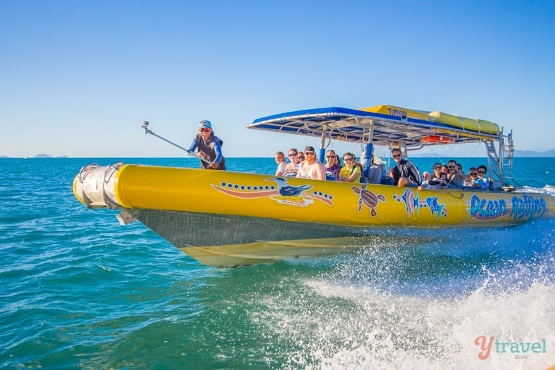 Ocean Rafting in the Whitsunday Islands, Queensland