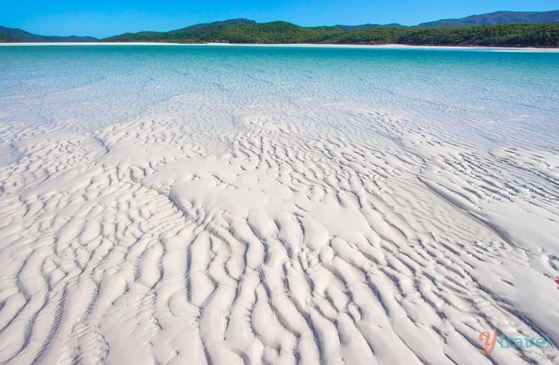 Playa de Whitehaven - Islas Whitsunday, Queensland, Australia