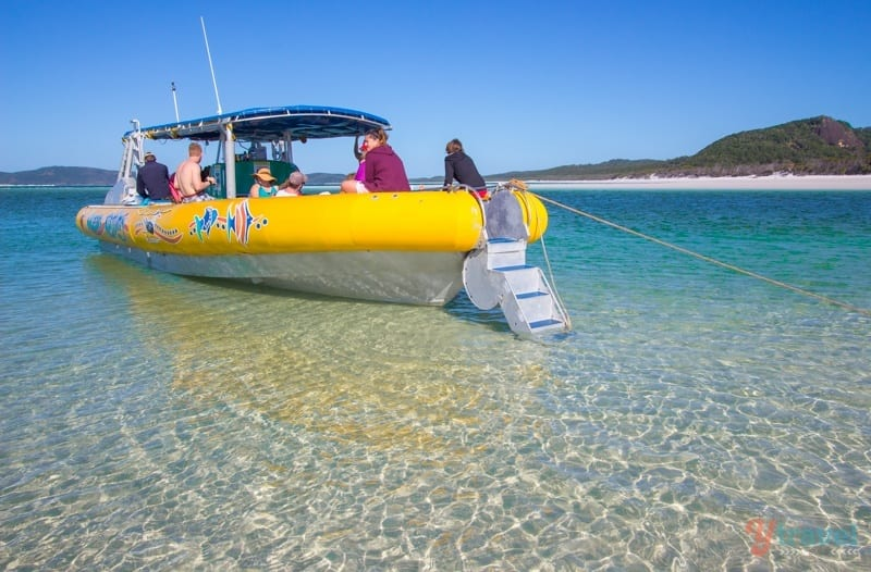 day trip Whitehaven Beach, Queensland, Australia