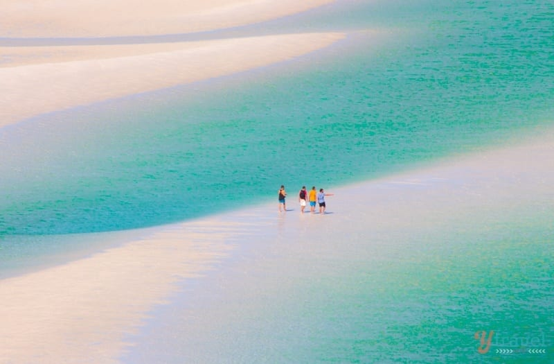Hill Inlet - Whitehaven Beach, Queensland, Australia