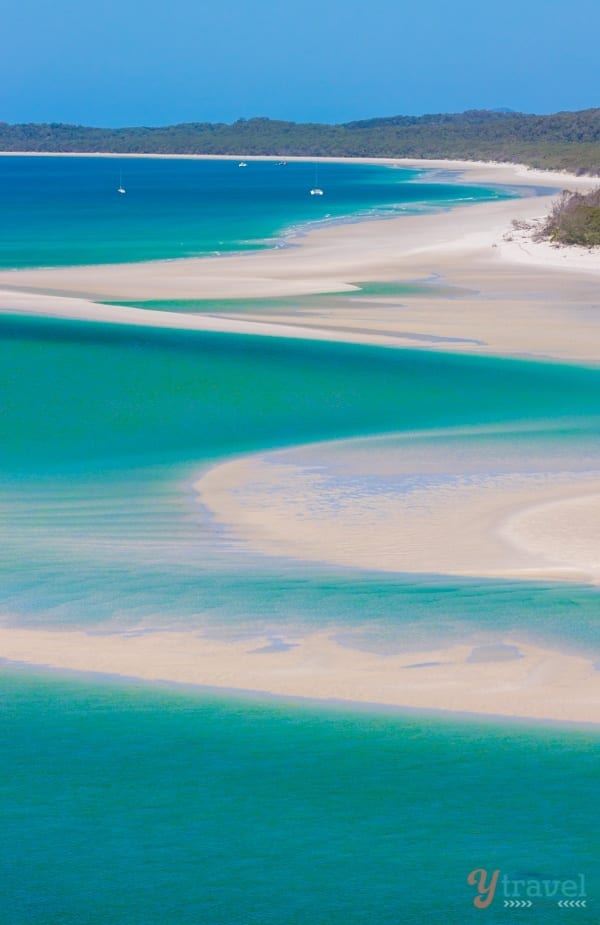 Playa de Whitehaven, Islas Whitsunday - Queensland, Australia