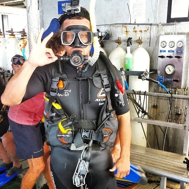Craig ready to dive