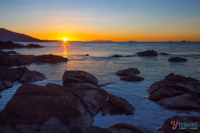 Sunset on Daydream Island - Queensland, Australia