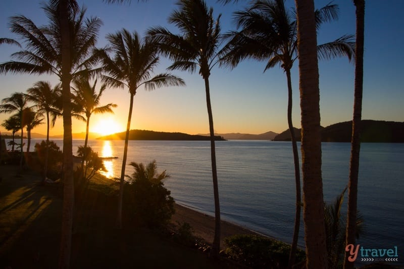 Sunrise on Daydream Island - Queensland, Australia