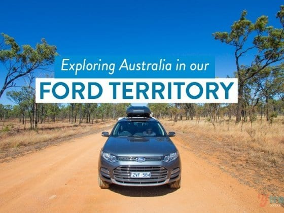 Exploring Australia in our Ford Territory