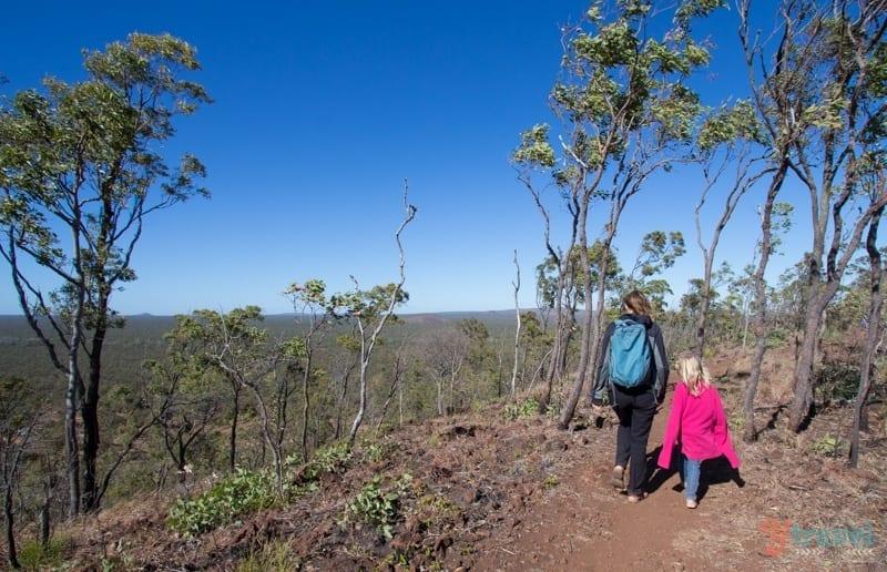 Kalkani Crater at Undara Lava Tubes - Queensland, Australia
