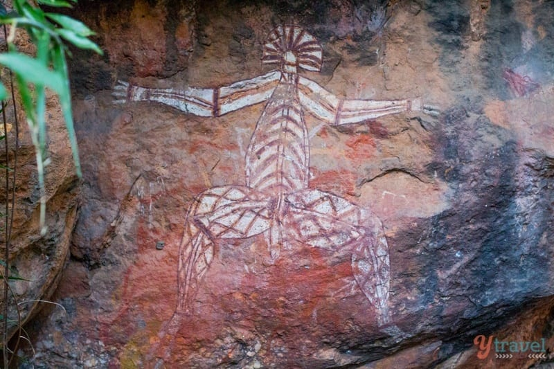 Aboriginal Rock Art - Kakadu National Park, Northern Territory, Australia