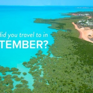 Where did you travel to in September?