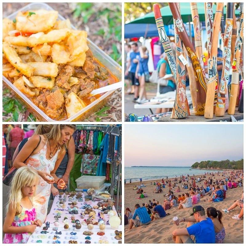 Midil Beach Markets, Darwin, Australia