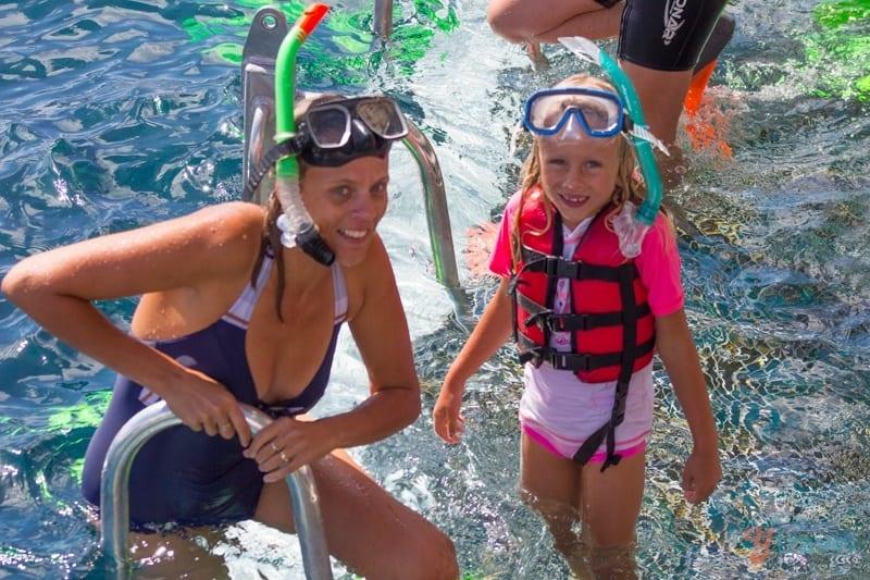 Snorkeling the Great Barrier Reef in Cairns, Australia