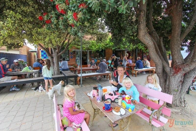 Cafe at Barwon Heads
