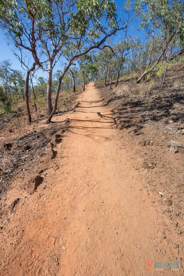 Walk to Kalkani Crater at Undara Lava Tubes - Queensland, Australia