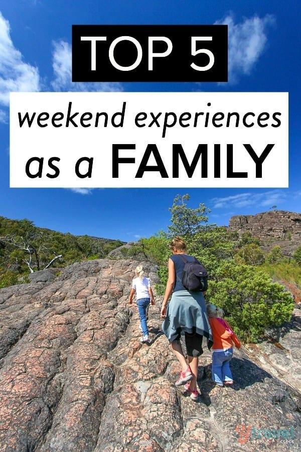 Top 5 weekend activities with your kids