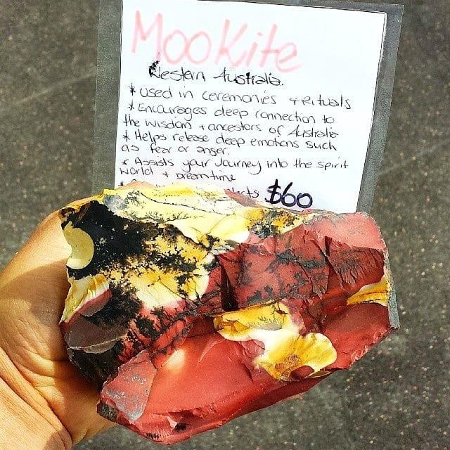 Mookite Crystal from Kurand, Australia