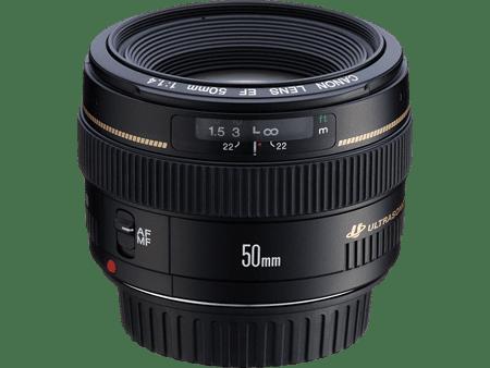 Canon Prime Lens - 50mm f/1.4