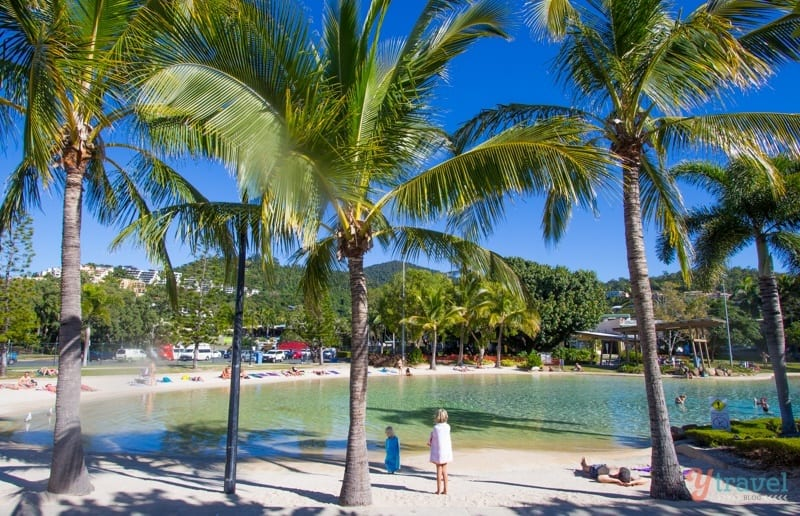 The Lagoon at Airlie Beach - Queensland, Australia