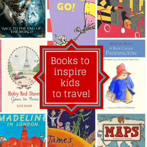 14 books to inspire kids to travel