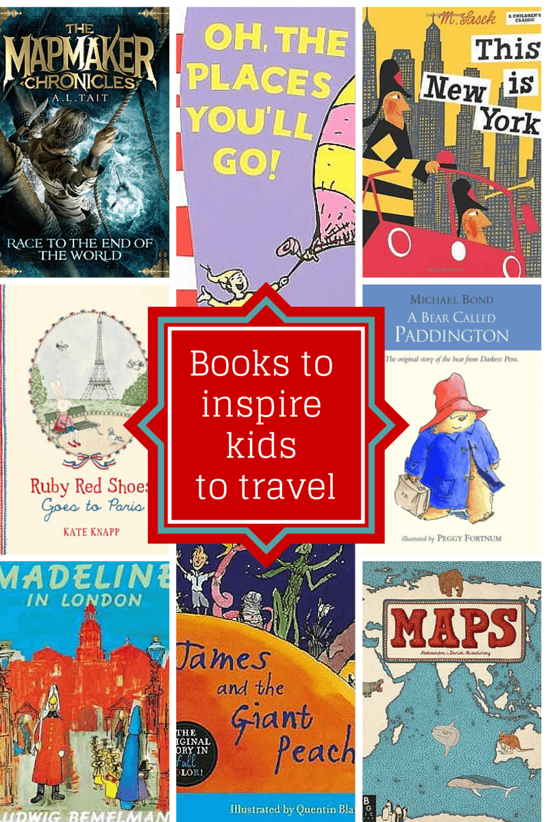 Books inspire kids travel