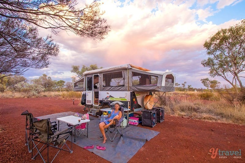 How to Travel around Australia - Caravan or Camper Trailer?