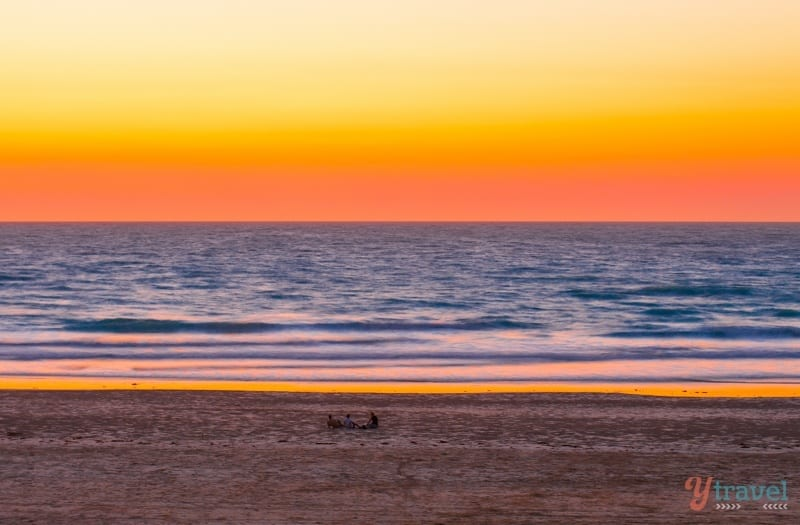 Sunset on Cable Beach, Broome - Western Australia